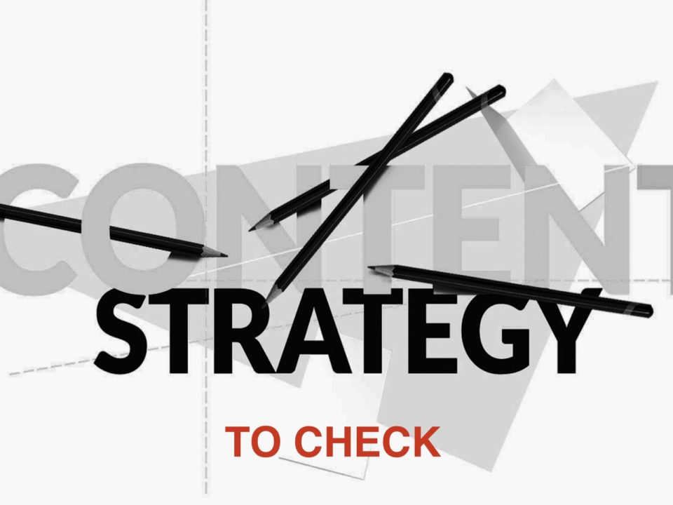 Content Strategy to Check